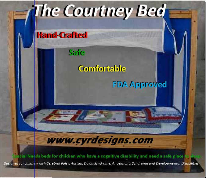 The Courtney Bed For Kids With Special Needs Cerebral